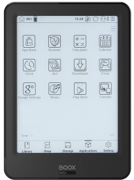 "Ebook reader Onyx Boox POKE PRO 6"", 300 ppi E-ink Carta, 2+16GB, Android 6, Negru"